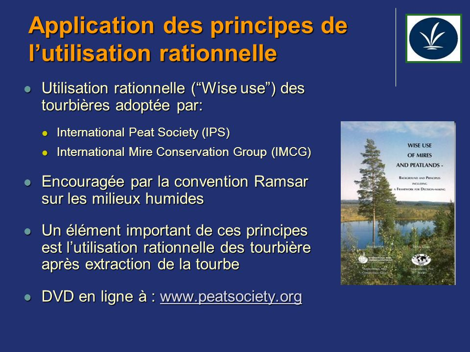 Application des principes de l'utilisation rationnelle