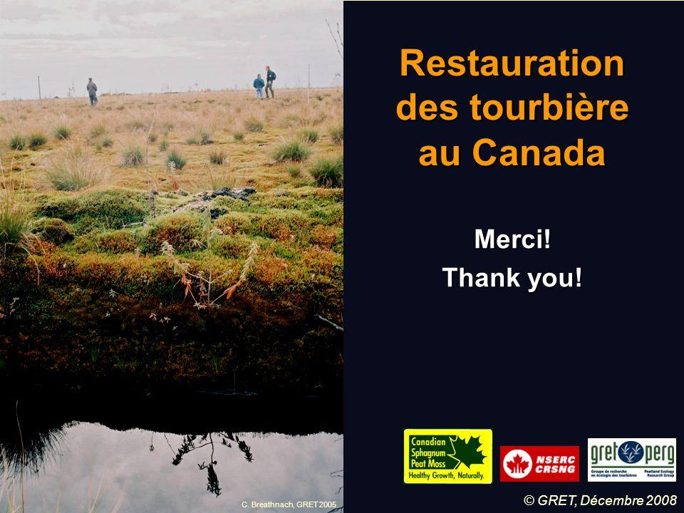 Restauration des tourbière au Canada
