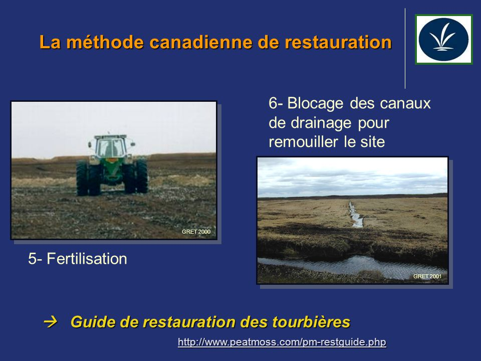 La méthode canadienne de restauration