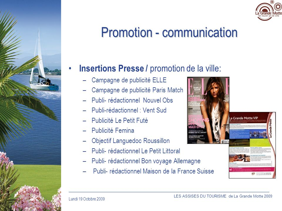 Promotion - communication