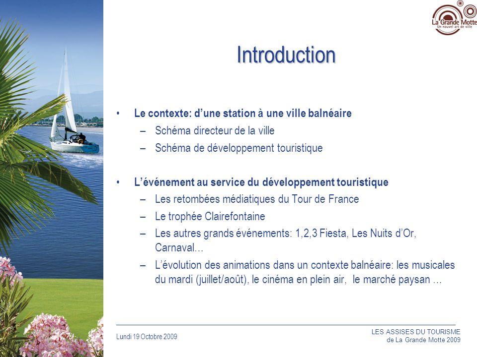 Introduction Le contexte: d'une station à une ville balnéaire