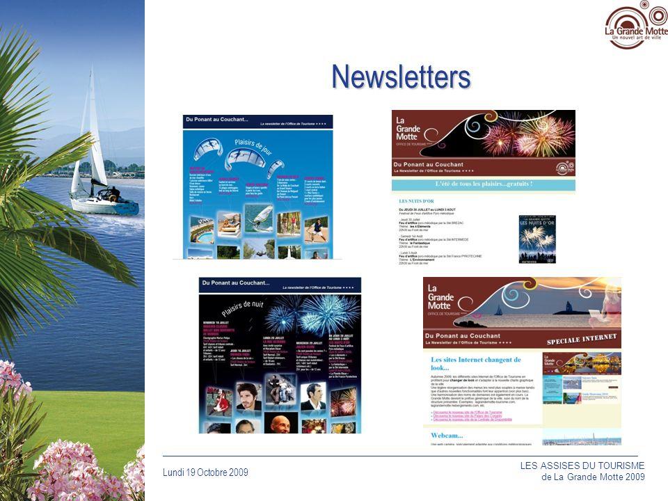 Newsletters LES ASSISES DU TOURISME de La Grande Motte 2009