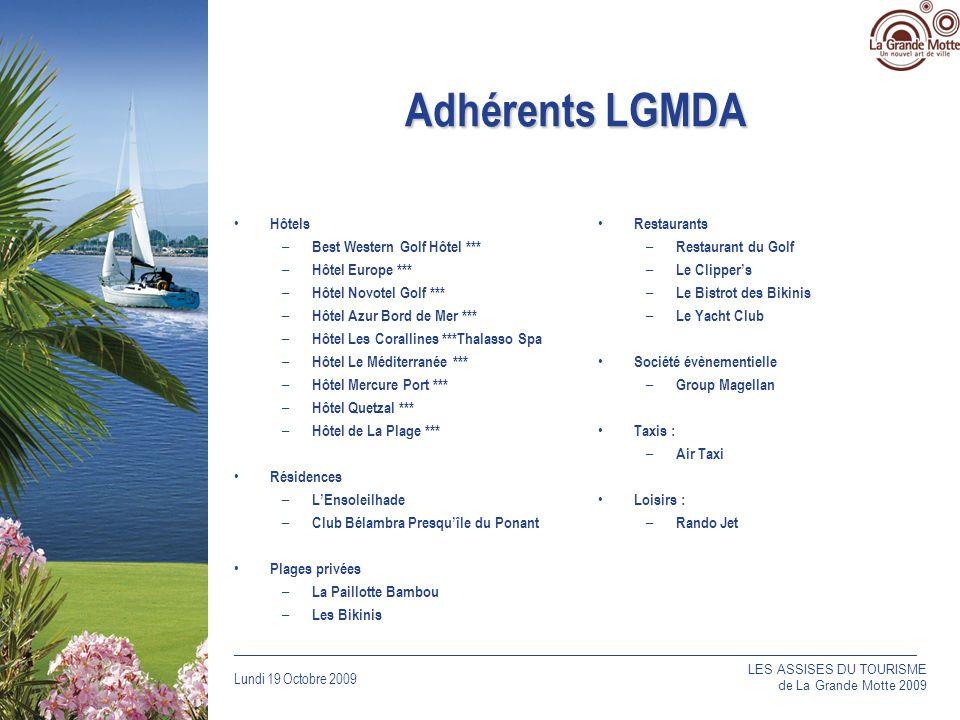 Adhérents LGMDA Hôtels Best Western Golf Hôtel *** Hôtel Europe ***