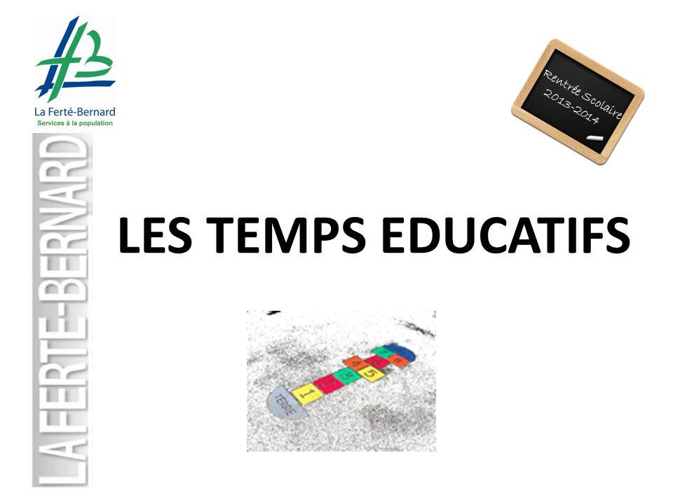 Rentrée Scolaire 2013-2014 LES TEMPS EDUCATIFS