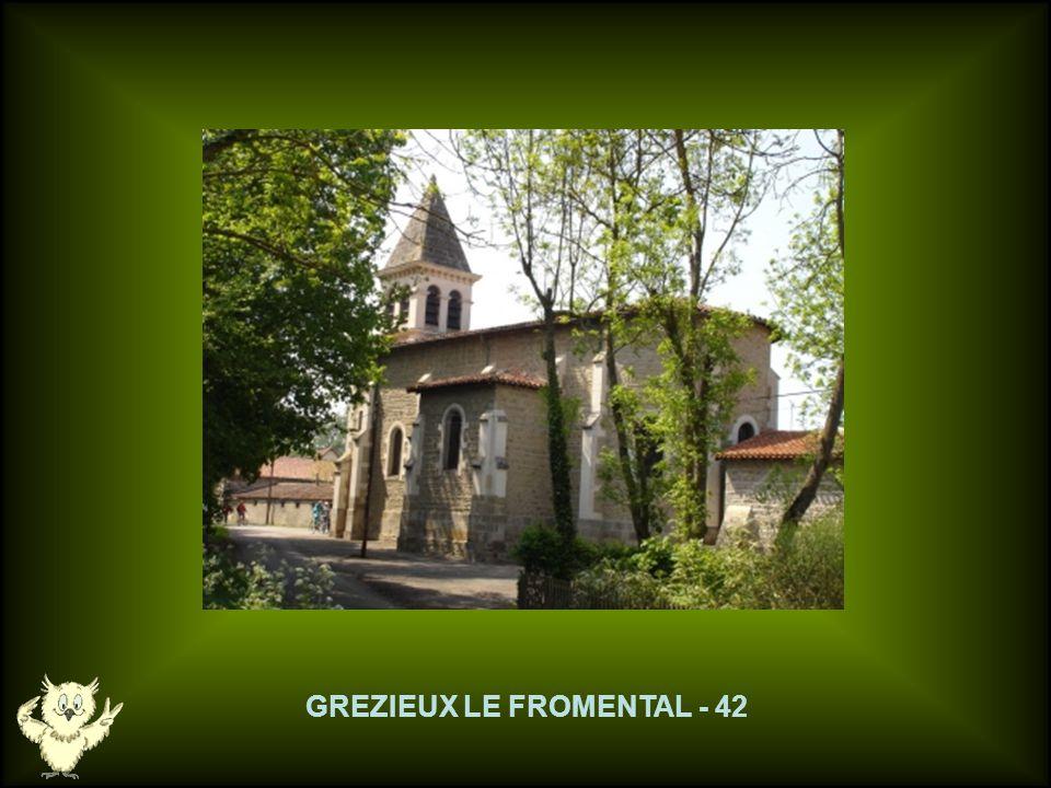 GREZIEUX LE FROMENTAL - 42