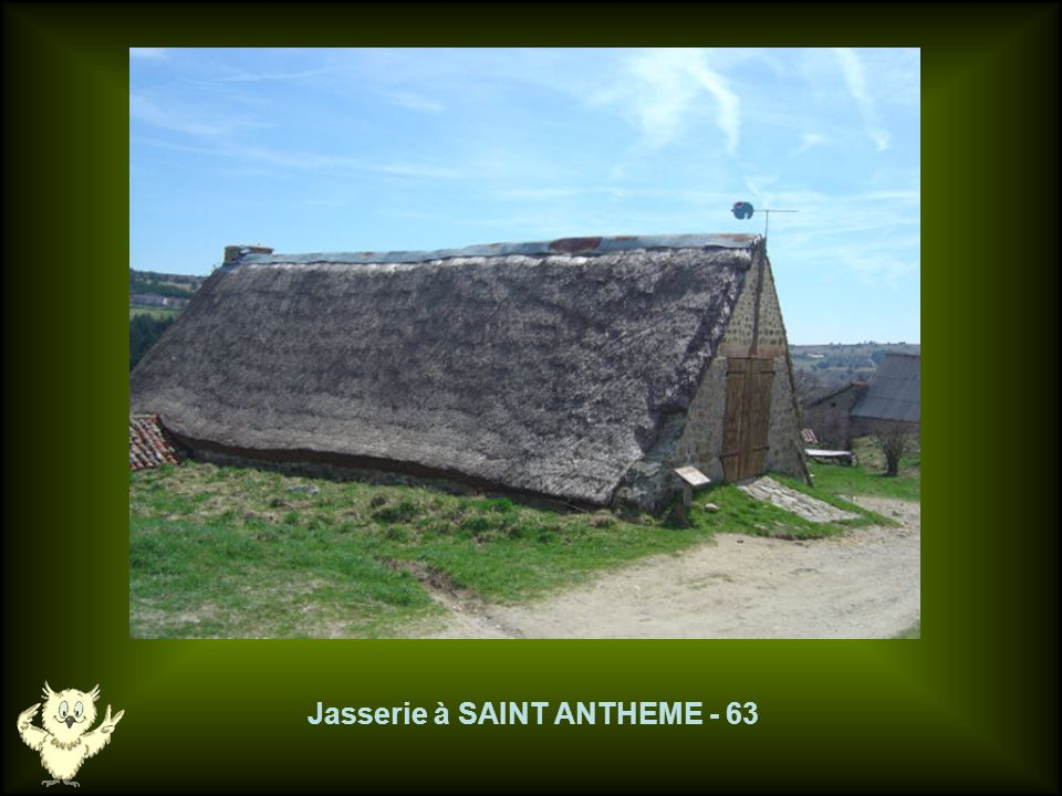 Jasserie à SAINT ANTHEME - 63