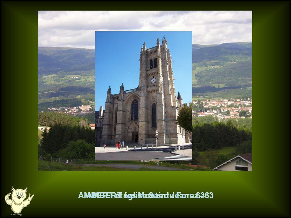 AMBERT église Saint Jean - 63 AMBERT et les Monts du Forez - 63