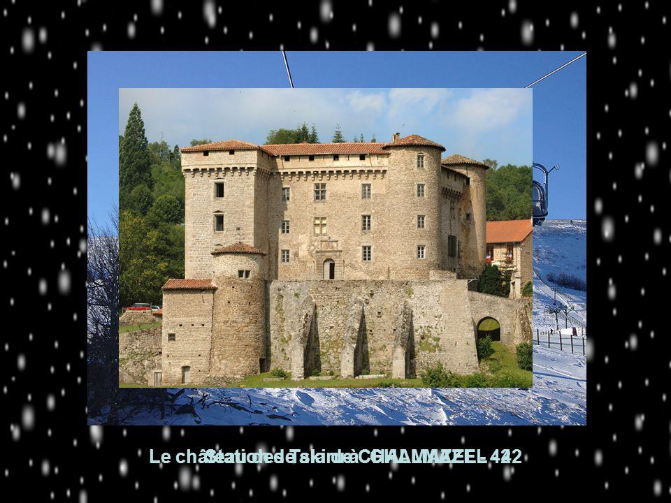 Le château des Talaru à CHALMAZEL - 42