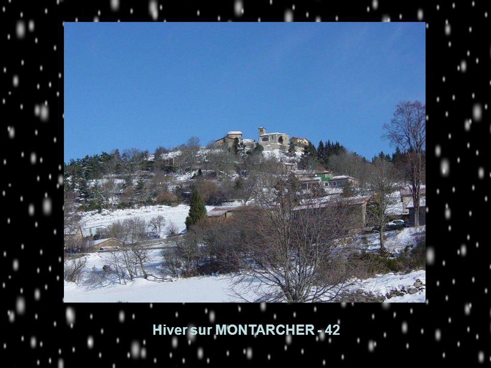 Hiver sur MONTARCHER - 42