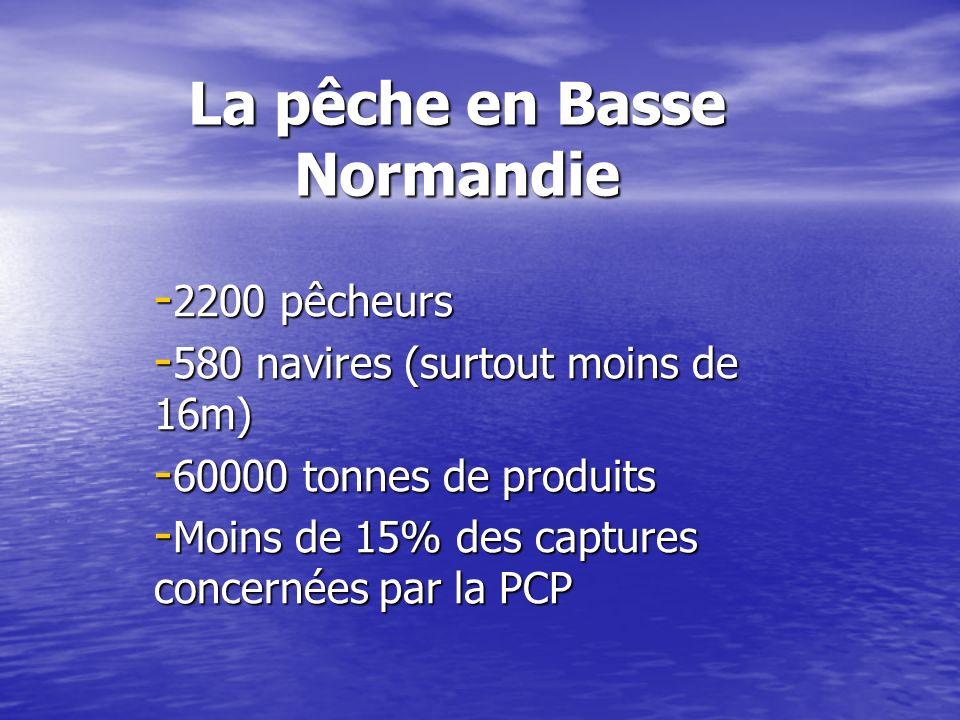 La pêche en Basse Normandie