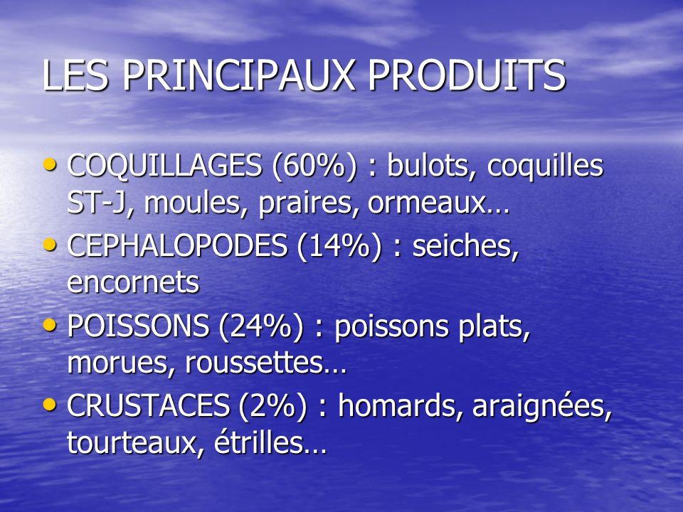 LES PRINCIPAUX PRODUITS