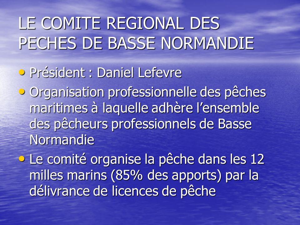 LE COMITE REGIONAL DES PECHES DE BASSE NORMANDIE