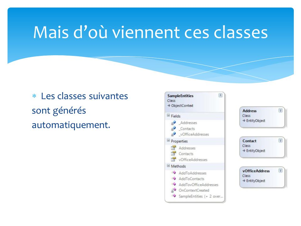 Mais d'où viennent ces classes