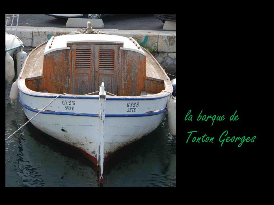 la barque de Tonton Georges