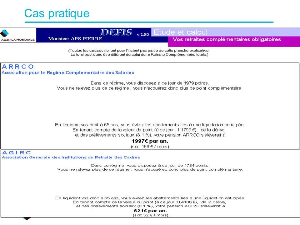 Cas pratique A. Bernard/F.Gisclard Suite… 2010/11
