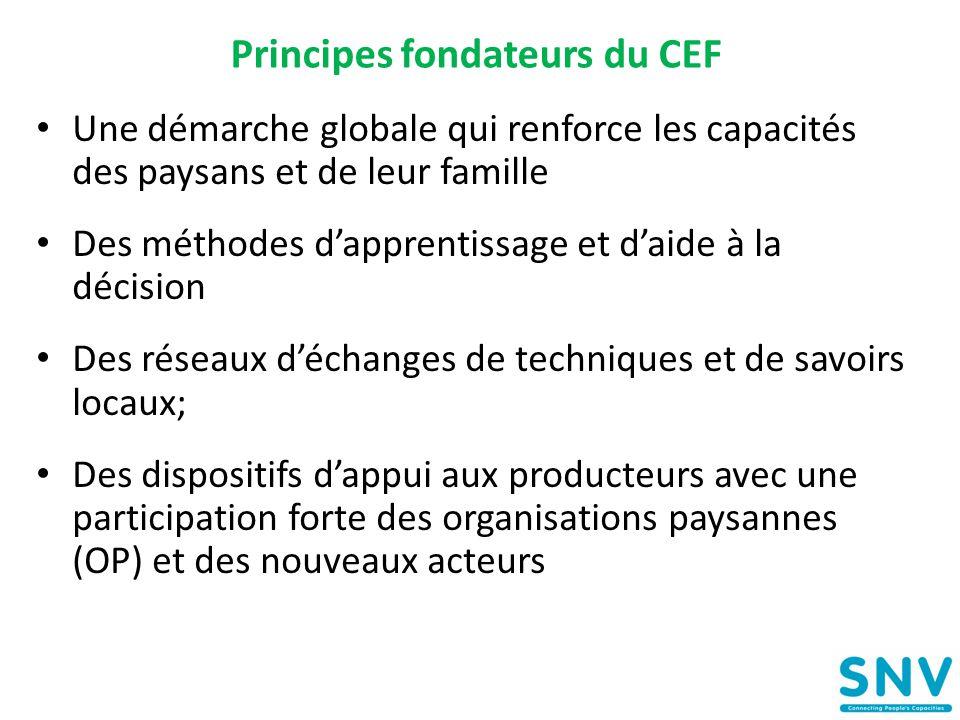 Principes fondateurs du CEF