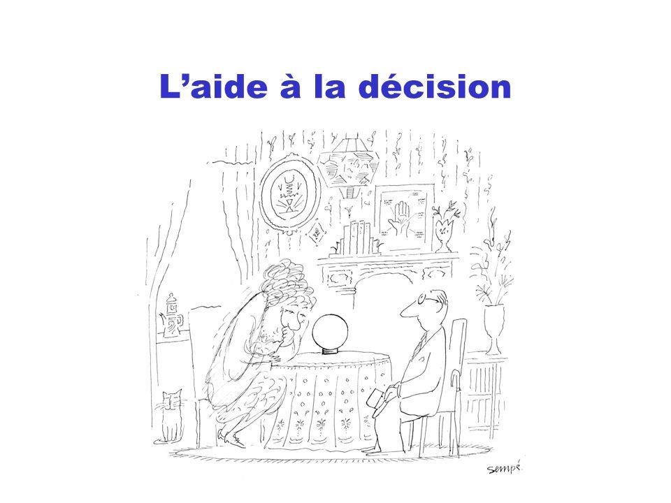 L'aide à la décision