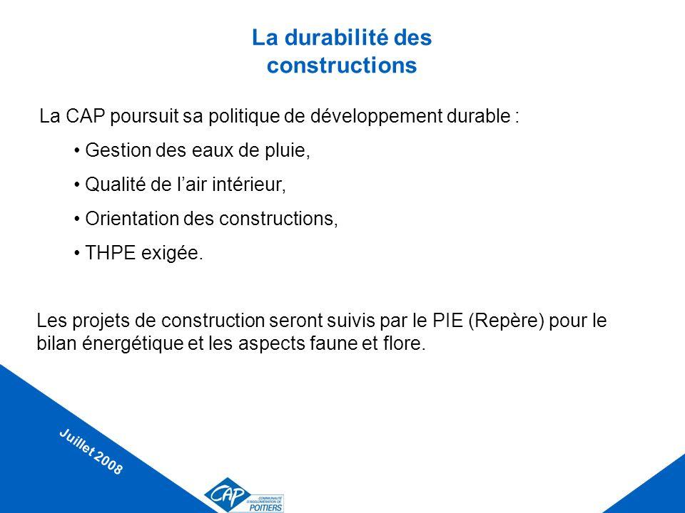La durabilité des constructions