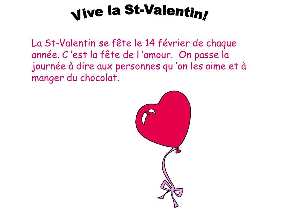 Vive la St-Valentin!