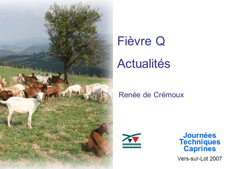 Fièvre Q Actualités Renée de Crémoux