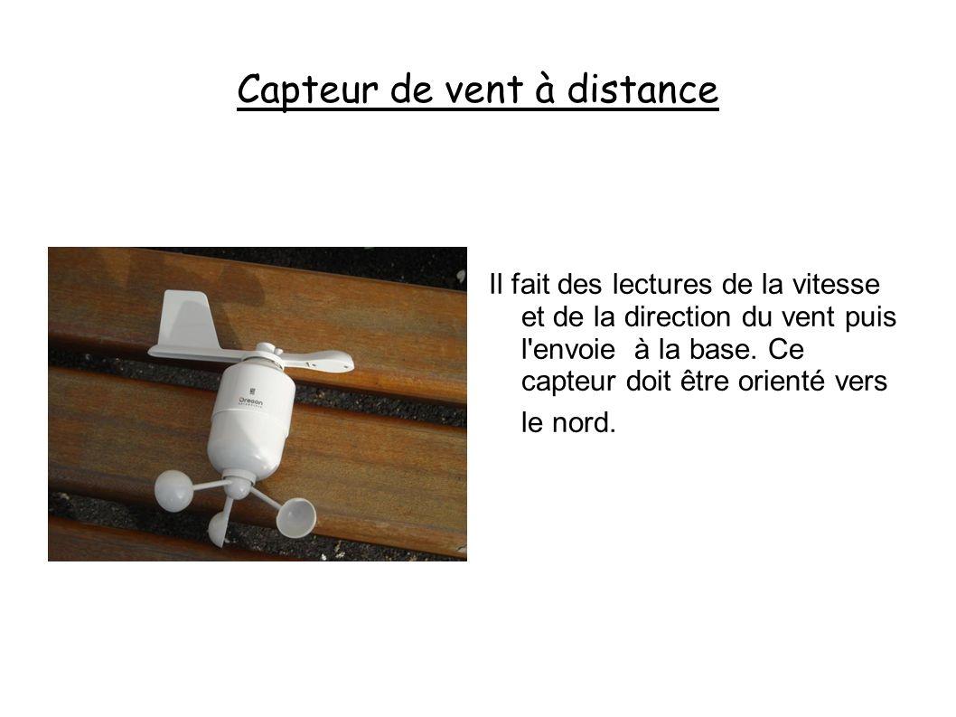 Capteur de vent à distance
