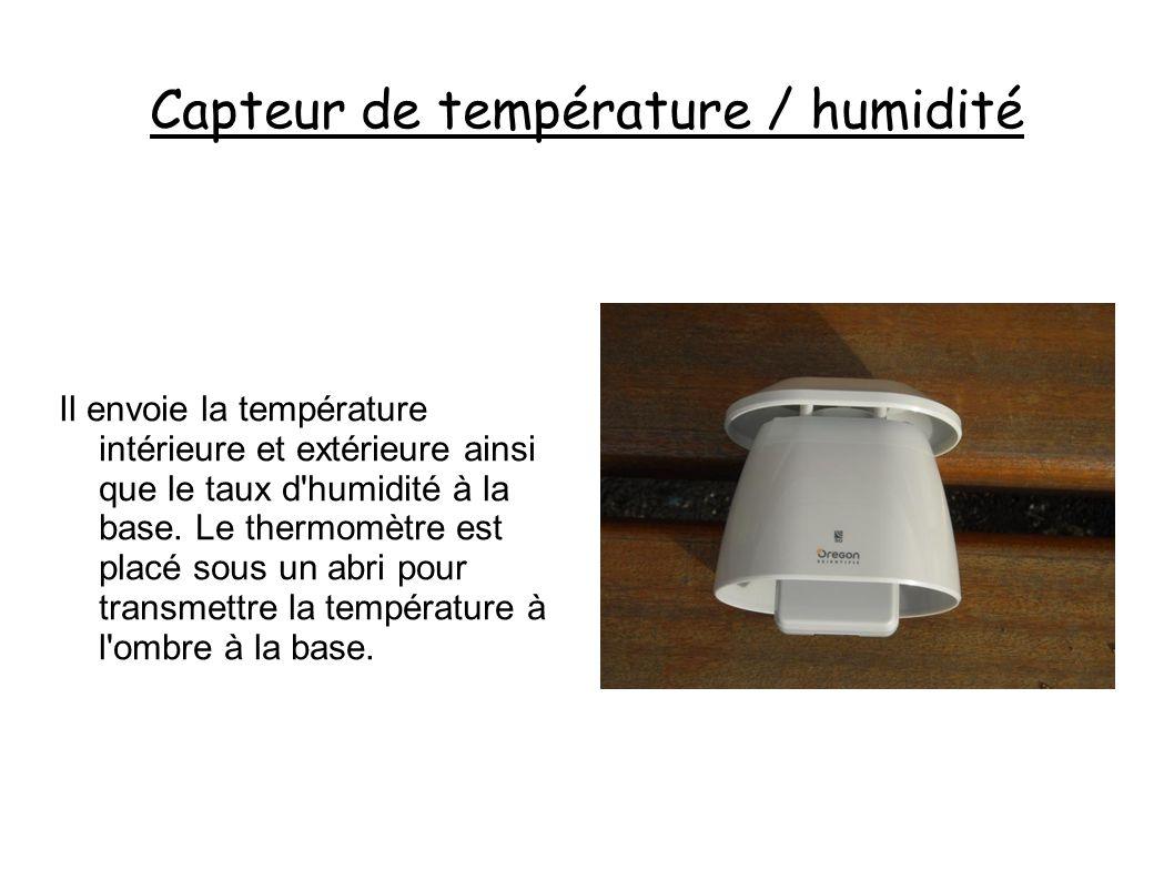 Capteur de température / humidité