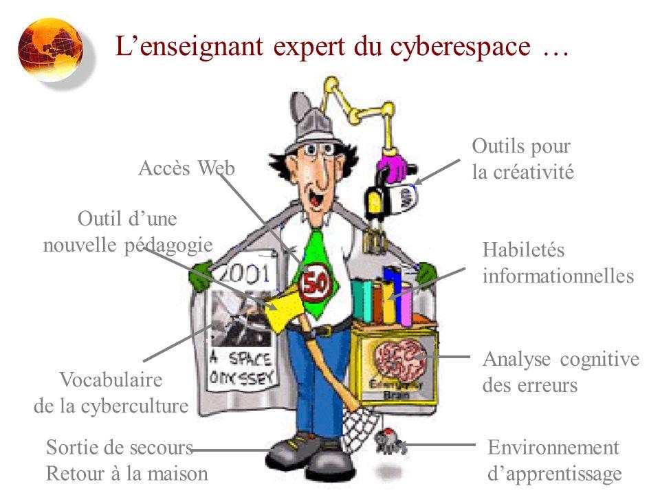 L'enseignant expert du cyberespace …