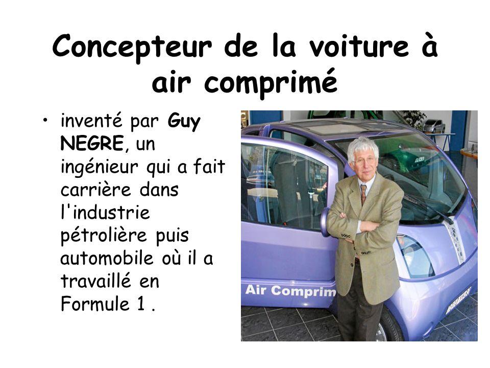 Concepteur de la voiture à air comprimé