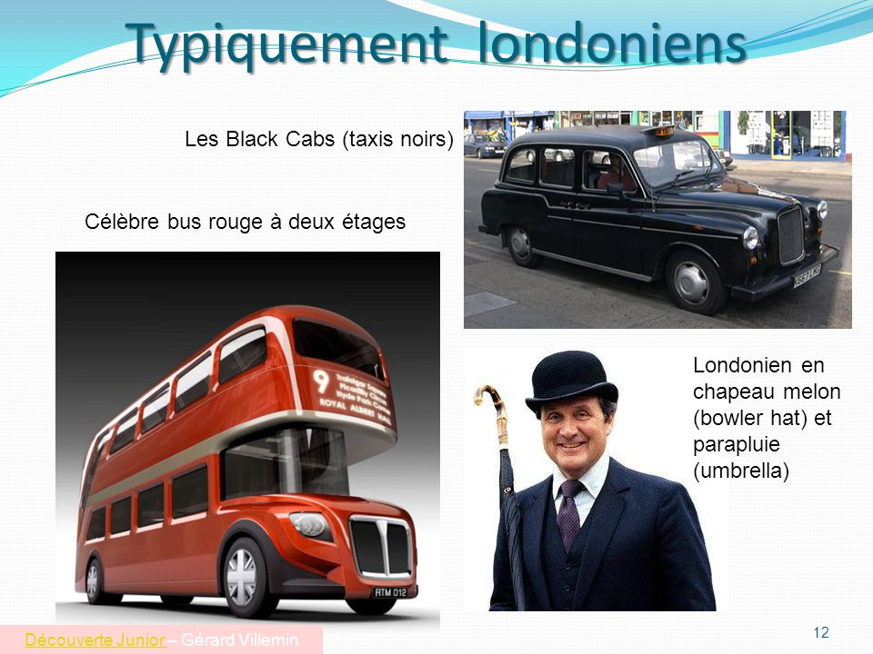 Typiquement londoniens