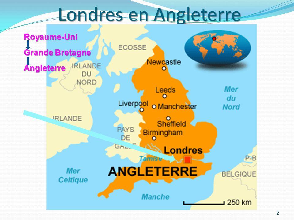 Londres en Angleterre Royaume-Uni Grande Bretagne Angleterre