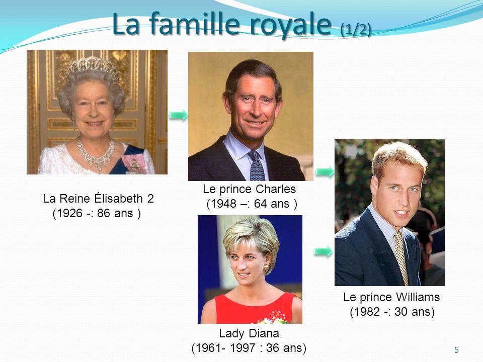 La Reine Élisabeth 2 (1926 -: 86 ans )