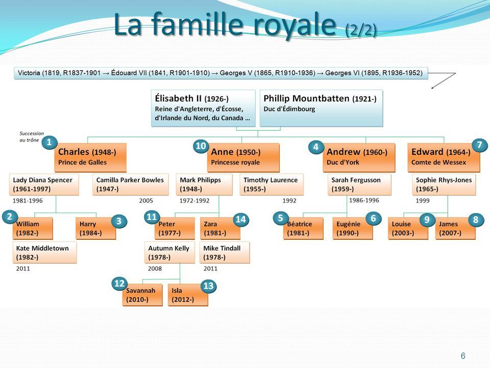 La famille royale (2/2)