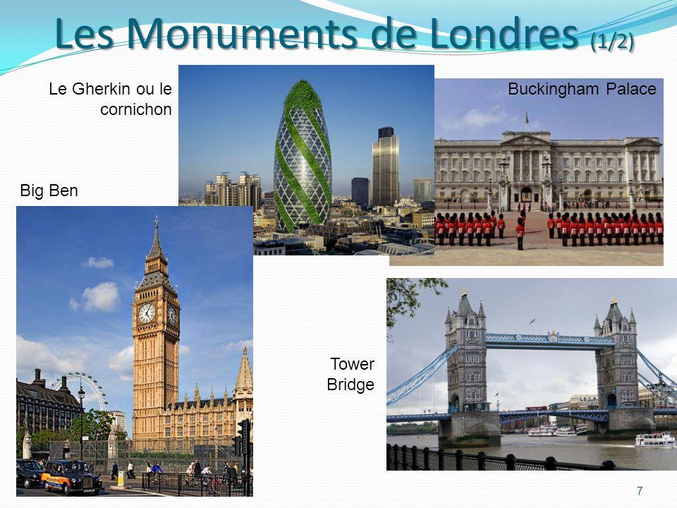 Les Monuments de Londres (1/2)
