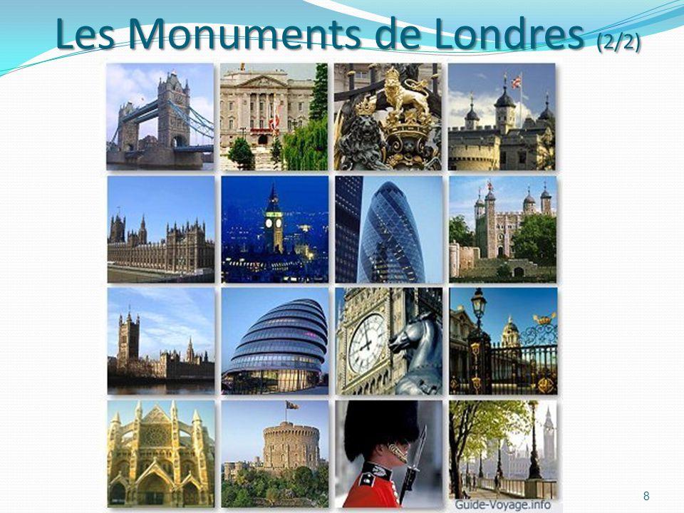 Les Monuments de Londres (2/2)