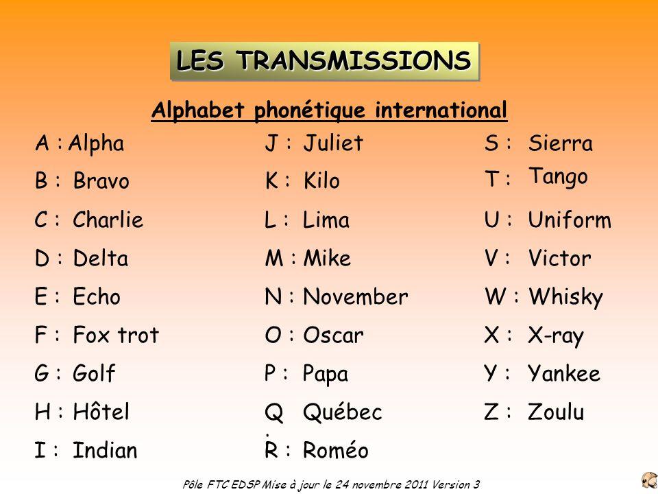 Alphabet phonétique international