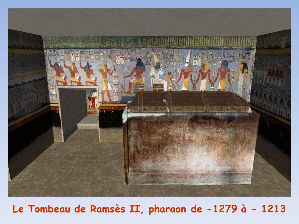 Le Tombeau de Ramsès II, pharaon de -1279 à - 1213