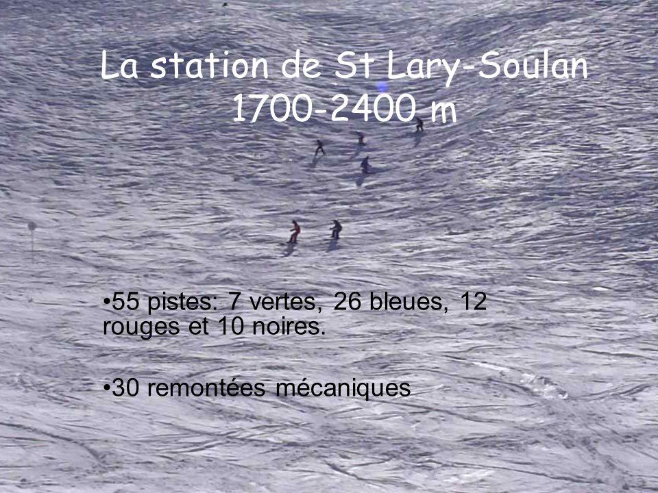 La station de St Lary-Soulan 1700-2400 m