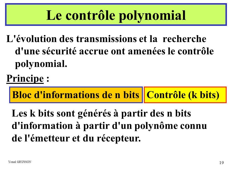Le contrôle polynomial
