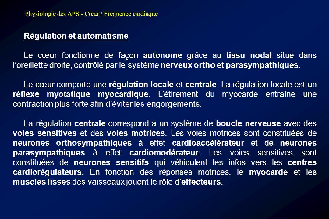 Régulation et automatisme