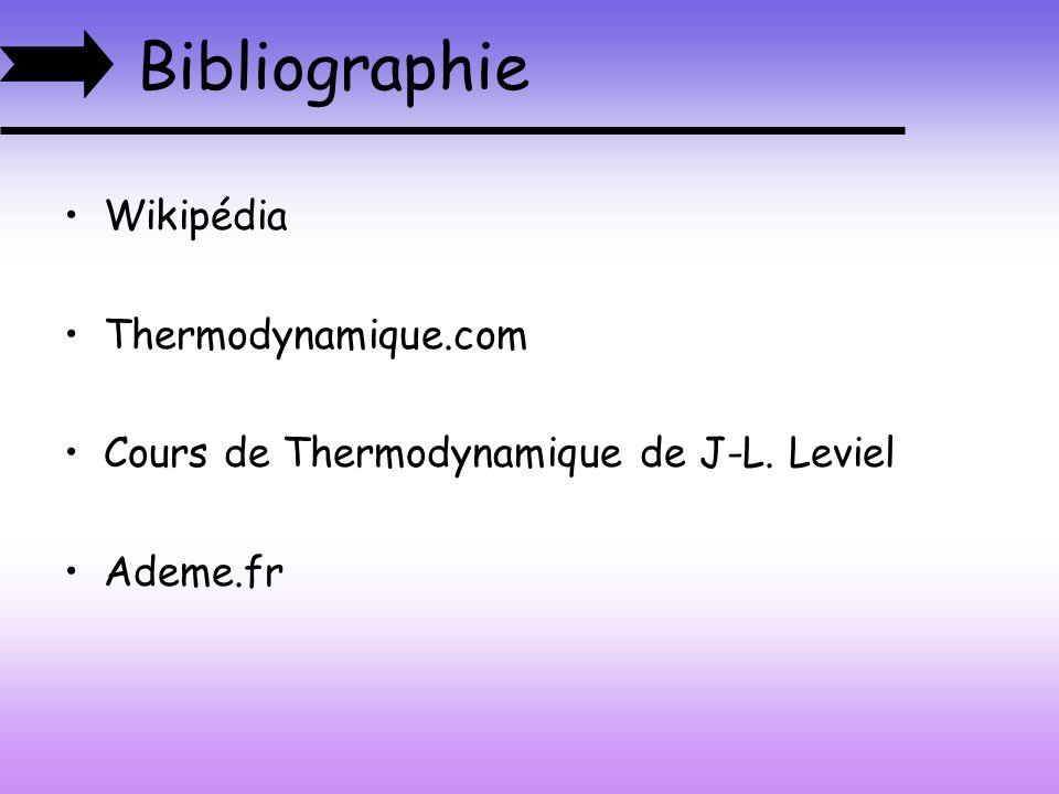 Bibliographie Wikipédia Thermodynamique.com