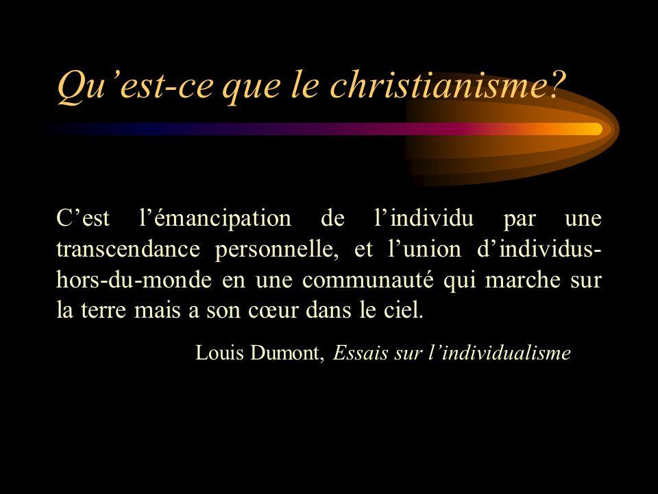 Qu'est-ce que le christianisme