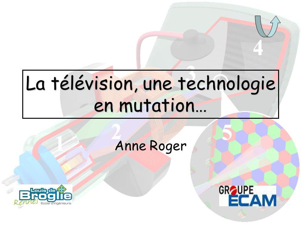 La télévision, une technologie en mutation…