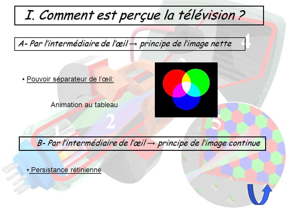 I. Comment est perçue la télévision