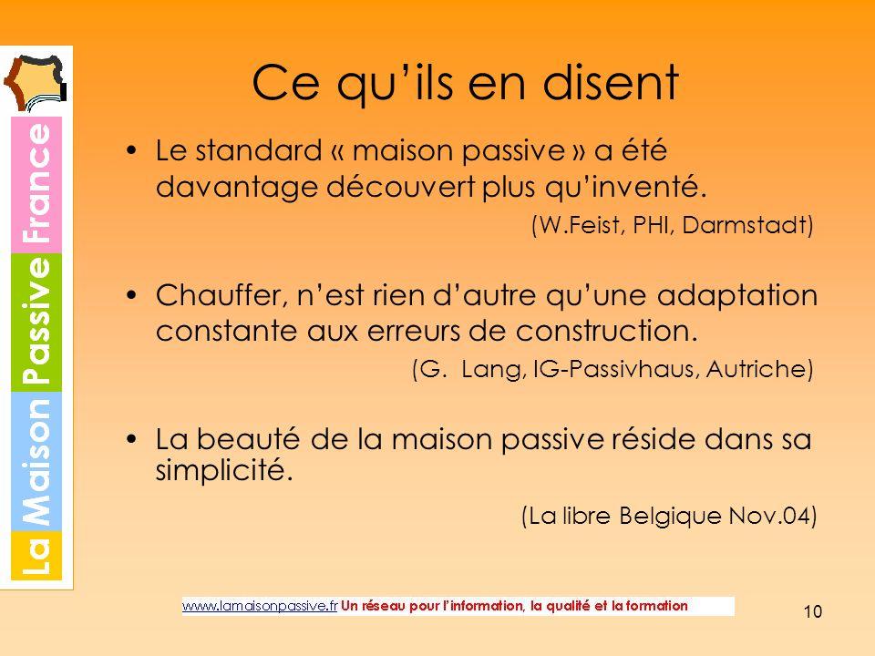 Ce qu'ils en disent (La libre Belgique Nov.04)