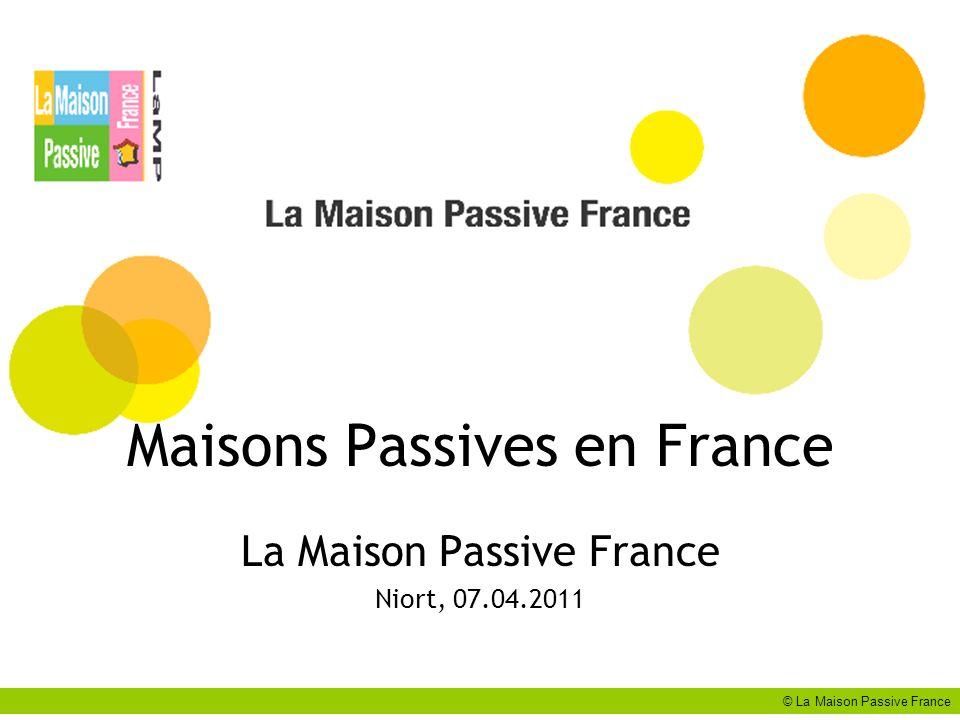 Maisons Passives en France