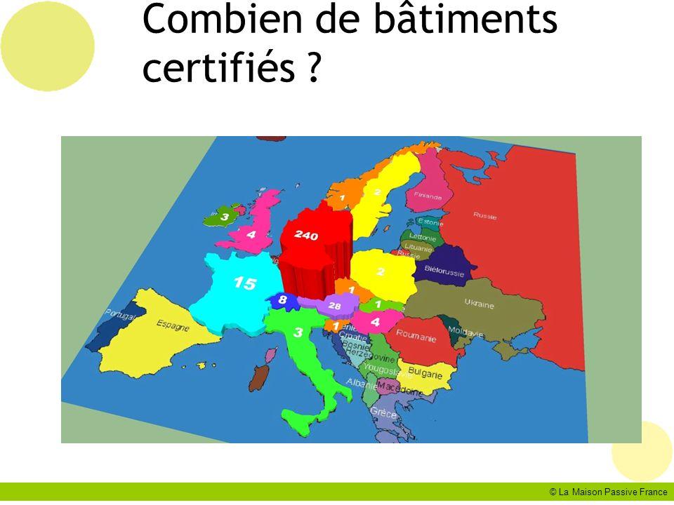 Combien de bâtiments certifiés