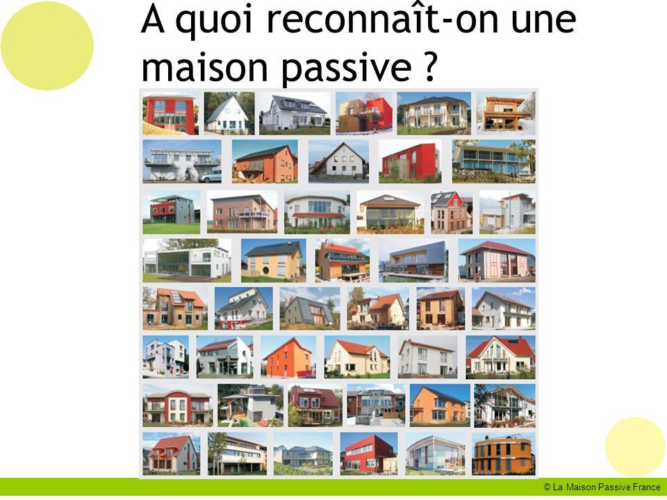 A quoi reconnaît-on une maison passive