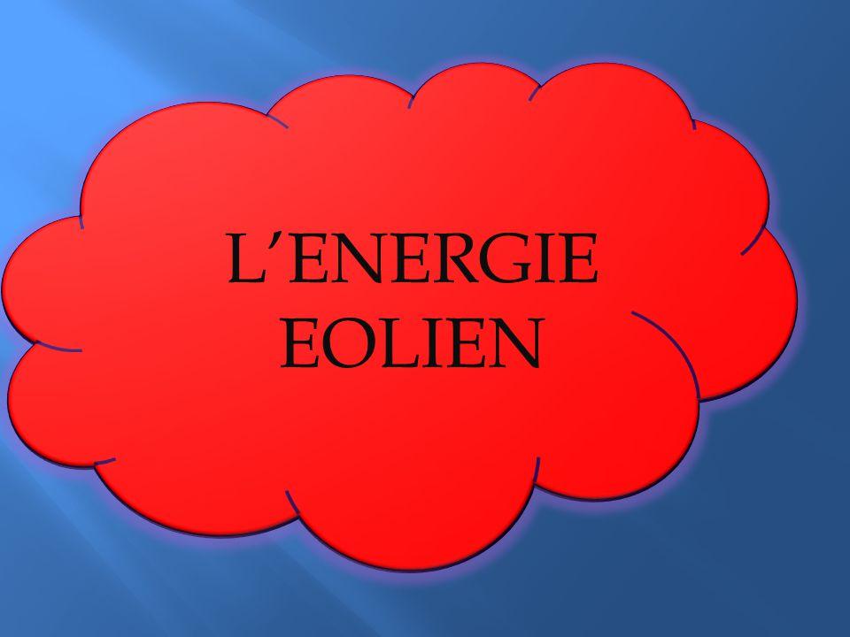 L'ENERGIE EOLIEN