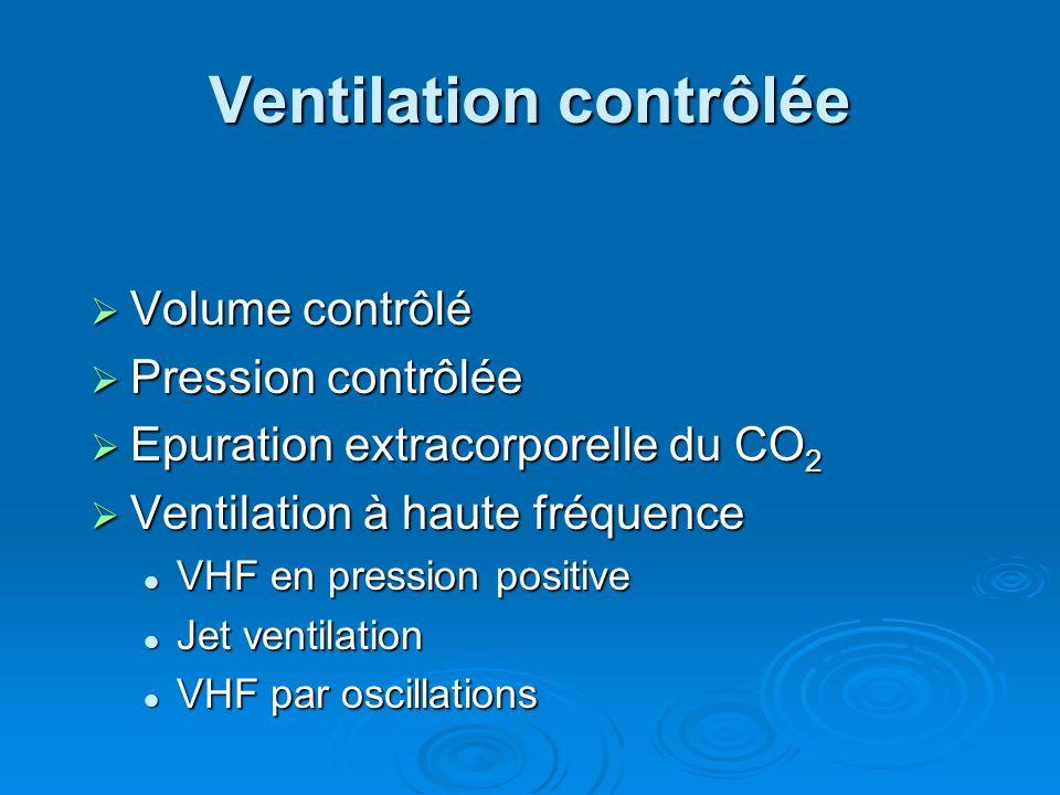 Ventilation contrôlée