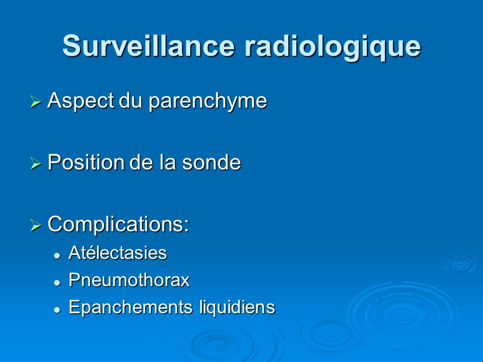 Surveillance radiologique